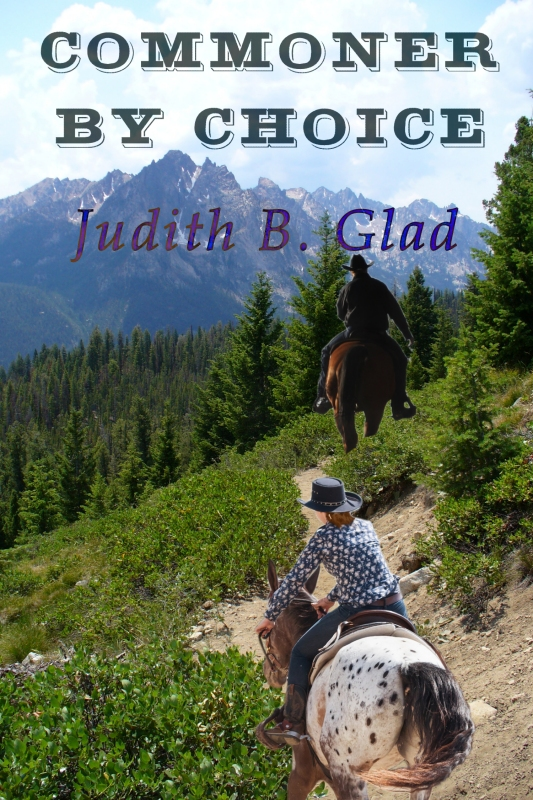 Commoner By Choice by Judith B. Glad